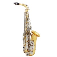 Andoer LADE Alto Saxophone - Glossy Brass Engraved