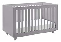 Storkcraft Violet 3-in-1 Convertible Crib, Pebble