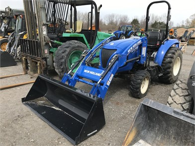 New Holland Less Than 40 HP Tractors For Sale In New York