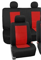 """As Is"" FH Group FB085RED11 Seat Covers Neoprene"