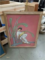 Asian painting of a woman