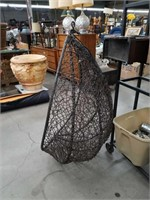 Hand woven hanging chair