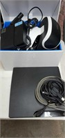 Sony playstation 3 with VR set up