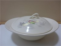 Pair of China Covered Casserole Dishes