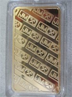 1oz Troy 9999 Gold Clad