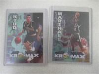 Rose, Wright, Jones, Kidd, Marshall, Grant Cards