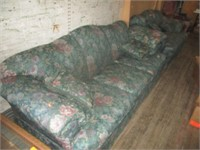 Avanti Floral Couch and Loveseat