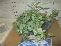 Table, Heater, Decor, Artificial Plants