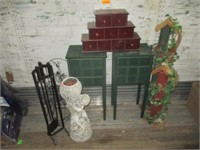 Stands, Birdhouse Decor, Statuary, Plant Stand