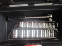 Drill Bits, Sockets, Wrench, Level, Box Cutter