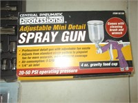 Sockets, Wrenches, Spray Gun, Rubber Boots