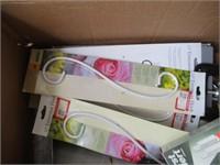 Plastic Tubs, Orbit Polisher, Trimmers, Hooks,