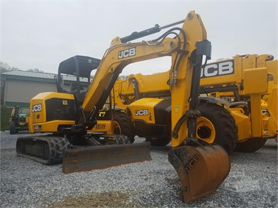 JCB Mini (Up To 12,000 Lbs) Excavators For Sale - 330