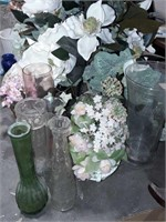 Vases And Faux Floral