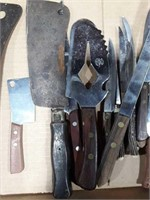 Cleavers And Other Kitchen Knives