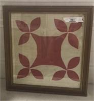 Fabric Art In Frame