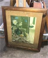 Framed Floral Art