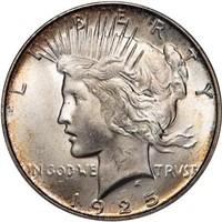 $1 1925-S PCGS MS65 CAC