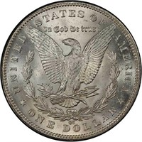 $1 1891-CC PCGS MS64+ CAC