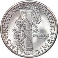 10C 1942/1-D PCGS MS66+FB CAC