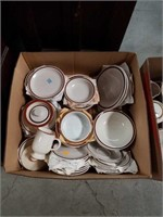 Box of dishes
