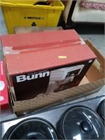 Box of coffee maker and Christmas set