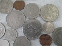 Various Foreign Coins
