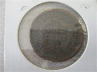 1851 Large Cent, 1878 Seated Liberty