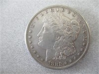 1884-O And 1882 Morgan Silver Dollars