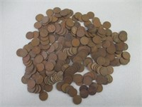 Large Lot Unresearched Wheat Pennies