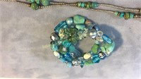 Turqouise & Sterling Necklace & Bracelet