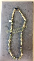 3 Necklaces Tiger's Eye Lucite Crystal Earrings