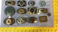 12 Buckles Agate Malachite Others