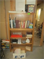 Bookshelf and Contents