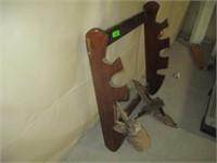 Gun Rack, Duck Mount, Jackalope Mount