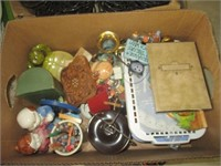 File Cabinet, Suitcases, Jars, Baskets and More