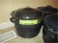 Roaster, Canning Pots, Jars
