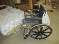 Bed and Wheelchair