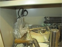 Contents of Cabinets