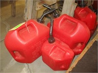 5) Gas Cans
