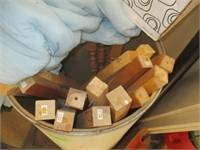 Wood, Foam, Boots, Metal Cabinets
