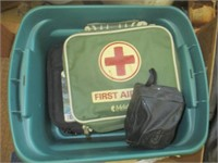 First Aid Kits, Bowling Ball, Bags