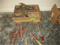 Clamps, Planers, Hand Tools