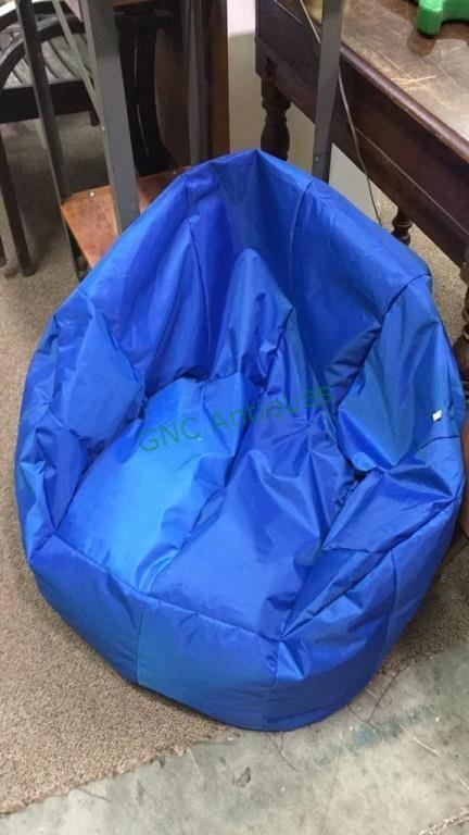 Astonishing Bright Blue Big Joe Beanbag Chair For Adults Or Gnc Frankydiablos Diy Chair Ideas Frankydiabloscom