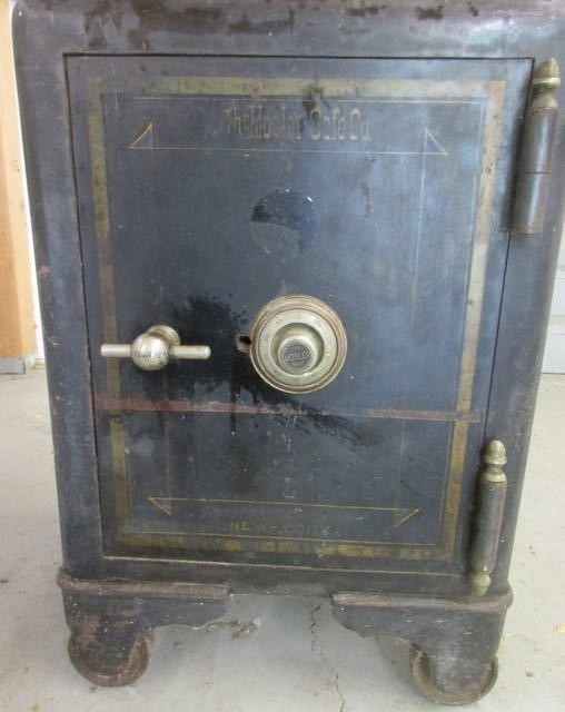 Safe - Antique Mosler Safe - Circa Late 1800s | BidCal, Inc  - Live
