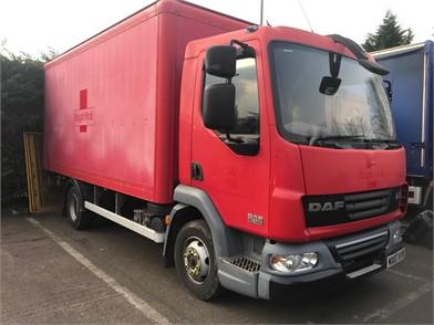 25da71b483 Used DAF Box Trucks for sale in the United Kingdom - 186 Listings ...