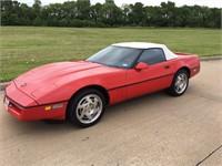 1990 Corvette Convertible - Online Auction!