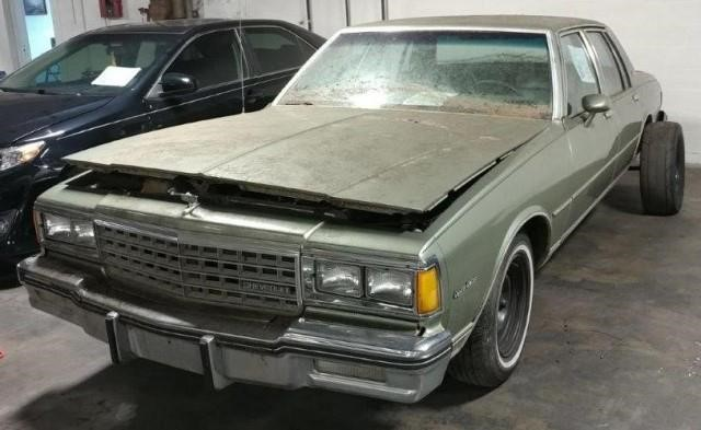 1985 Chevrolet Caprice | Apple Towing Co
