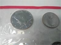1972 Uncirculated Bureau of The Mint Coin Set
