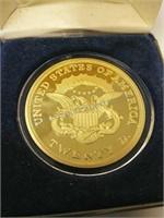 1849 Liberty US Twenty Dollar Gold - COPY
